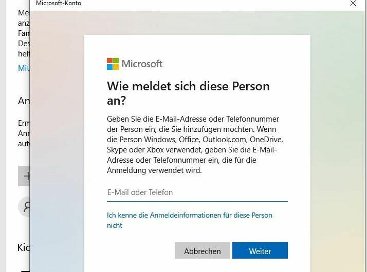 Windows 10: Neues lokales Nutzerkonto – ohne Microsoft Konto – erstellen
